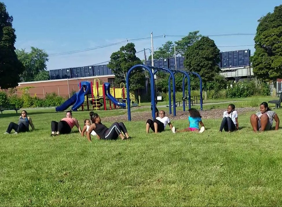 Bootcamp at the park